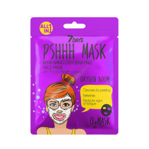 7DAYS PSHHH Oxygen Boom Sheet Mask 25g