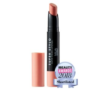MUA Super Stylo Satin Finish Lipstick super nude